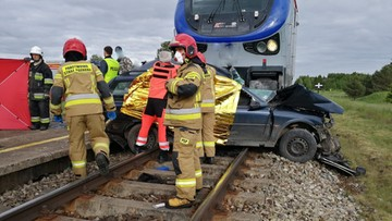 Tragiczny wypadek na torach. Nie żyją trzy osoby