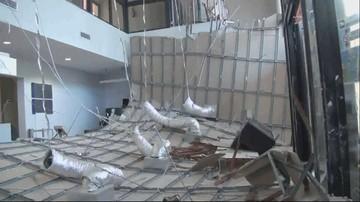 Na basenie w Miliczu zawalił się podwieszany sufit. Burmistrz złoży zawiadomienie do prokuratury