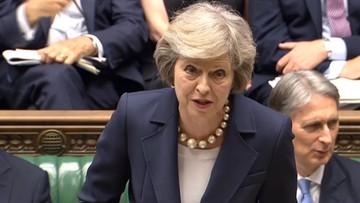 Brytyjska premier Theresa May w czwartek z wizytą w Polsce