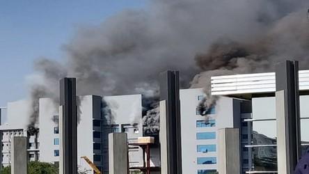 Pożar w największej na świecie fabryce szczepionek. Produkowano w niej szczepionki na CoVID-19