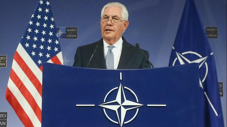 Tillerson: nie będzie normalizacji stosunków NATO z Rosją