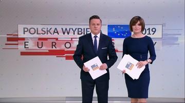 """Eurowybory 2019 - wyniki, komentarze, analizy. Zobacz zapis relacji """"minuta po minucie"""""""