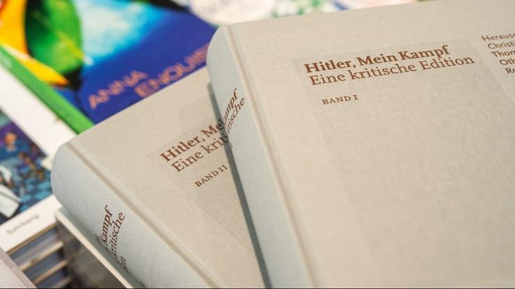 """""""Mein Kampf"""" bestsellerem w Niemczech. Nakład zniknął w trzy dni"""