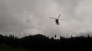 Polski turysta zasłabł w Tatrach Zachodnich. Wspólna akcja ratowników polskich i słowackich