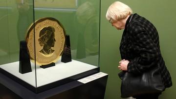 100-kilogramowa złota moneta skradziona z berlińskiego muzeum została prawdopodobnie zniszczona
