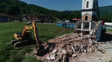 Bośnia. Po 20-letniej batalii zburzyli kościół koło Srebernicy