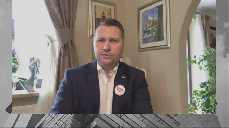"""Dajemy sobie radę z pandemią koronawirusa najlepiej w Europie - Czarnek w """"Śniadaniu w Polsat News"""""""