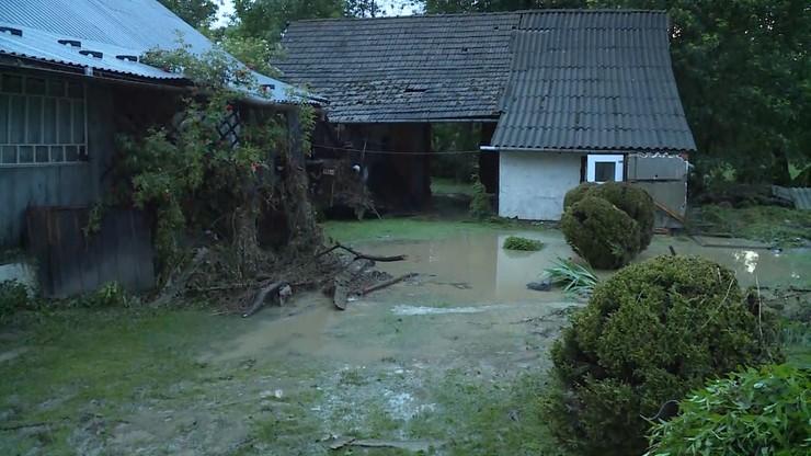 Wiele domów zostało zalanych