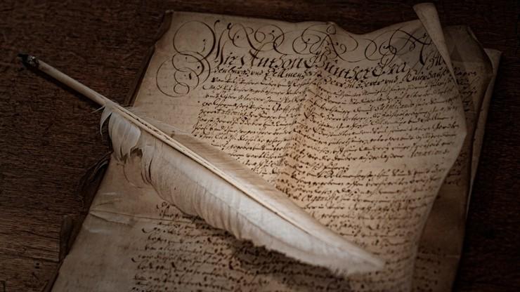 W. Brytania przestaje spisywać prawa na pergaminie