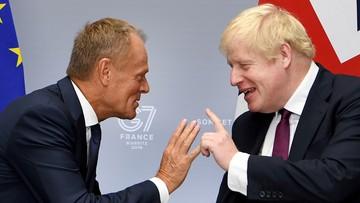Johnson powiedział Tuskowi, że Londyn opuści UE 31 października niezależnie od okoliczności