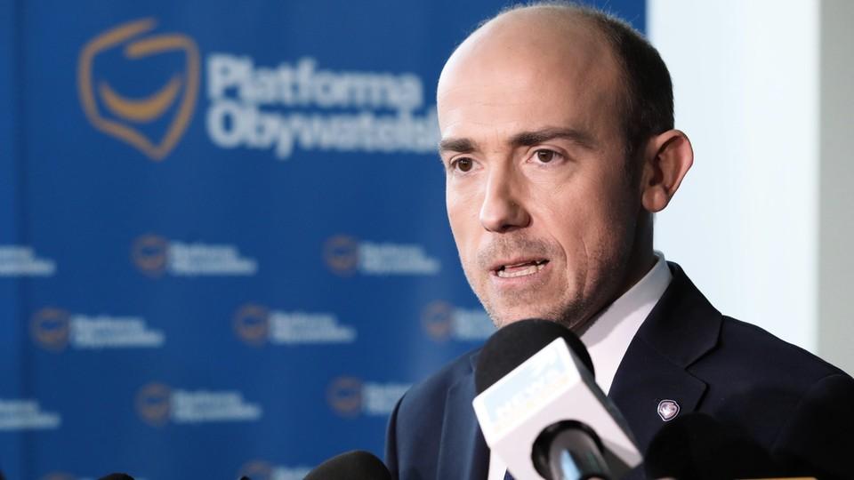 Borys Budka na stanowisku przewodniczącego PO zastąpił Grzegorza Schetynę