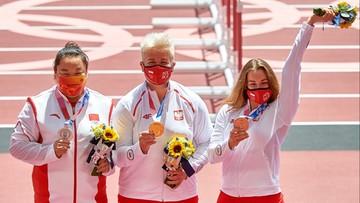Tokio 2020: Włodarczyk i Kopron odebrały medale
