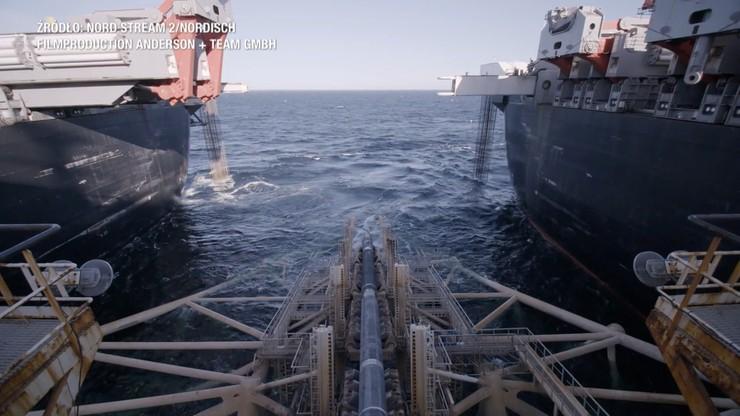 Putin: do ukończenia Nord Stream 2 pozostało 15 km. USA nakłada nowe sankcje na Rosję