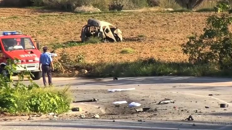 Policja zidentyfikowała organizatorów zabójstwa maltańskiej dziennikarki