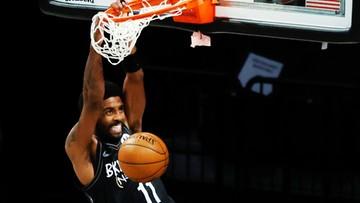 NBA: Kyrie Irving poprowadził Nets do wygranej w nowojorskich derbach