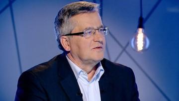Sąd Najwyższy uniewinnił Bronisława Komorowskiego po 36 latach