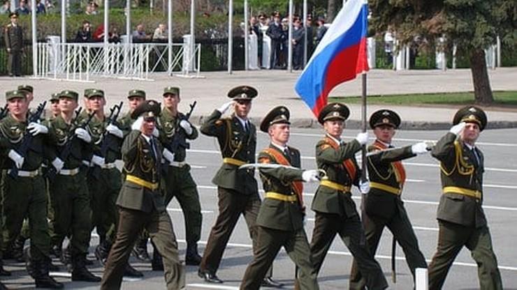 Zapad-2021. Rosja. Armia wypróbowała roboty bojowe Platforma-M w obwodzie kaliningradzkim