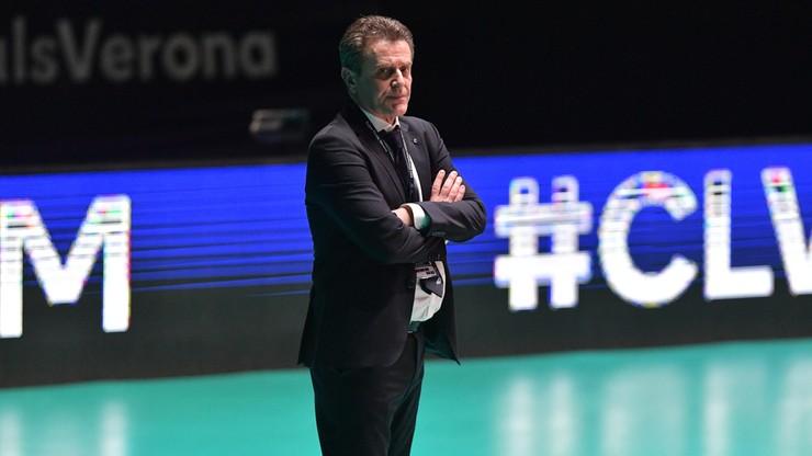 Angelo Lorenzetti: Rozczarowanie po finale LM jest ogromne
