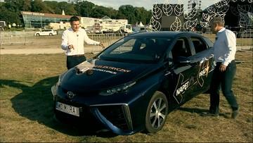 """""""Earth Festival. Gwiazdy dla Czystej Polski"""". Auto na wodór w eko-miasteczku w Uniejowie"""
