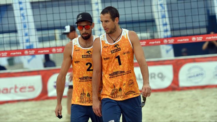 WT w siatkówce plażowej: Piotr Kantor i Bartosz Łosiak w ćwierćfinale i z awansem na igrzyska