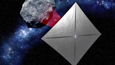 Pierwsza sonda napędzana żaglem słonecznym poleci na planetoidę rakietą Space Launch System