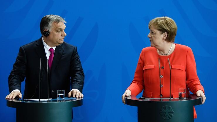 """Merkel i Orban o migracji. """"Widzimy świat zupełnie inaczej"""""""