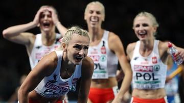 Polki mistrzyniami Europy w sztafecie 4x400 m