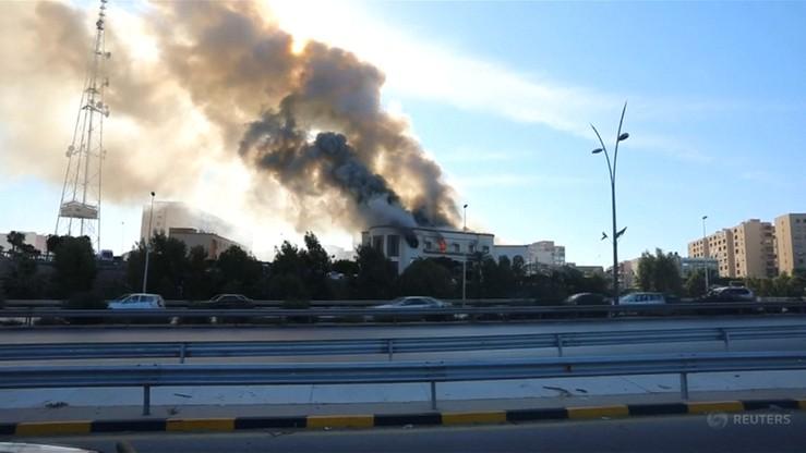 Atak na siedzibę MSZ w Trypolisie. Kilka ofiar, napastnicy zginęli