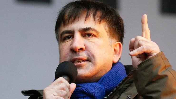 Holandia chce przyjąć byłego prezydenta Gruzji Micheila Saakaszwilego