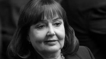 Zmarła była minister pracy i polityki społecznej. Zmagała się z choroba nowotworową