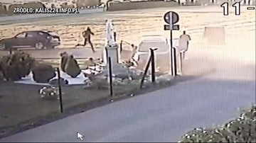 20-letni motocyklista uderzył w auto, chwilę później przejechał po nim inny pojazd