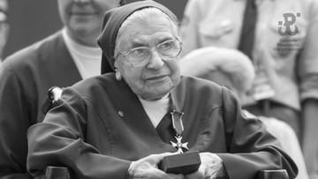 Zmarła siostra Józefa Słupiańska - bohaterka Powstania Warszawskiego. Miała 106 lat