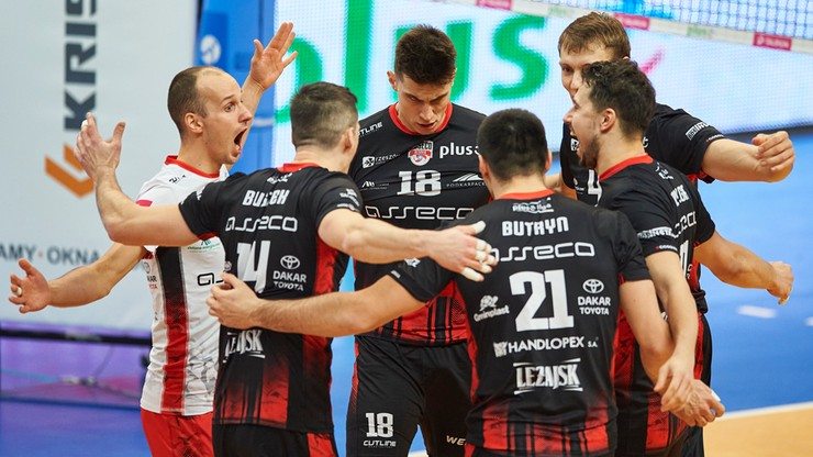 PlusLiga: Asseco Resovia pokonała MKS
