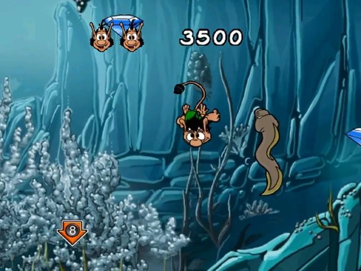 Hugo zbierał diamenty także pod wodą