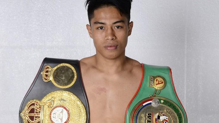 Reymart Gaballo wywalczył tymczasowy pas mistrzowski WBC w wadze koguciej