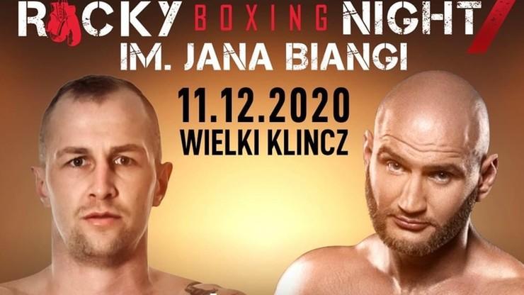 Rocky Boxing Night im. Jana Biangi 11 grudnia w Wielkim Klinczu