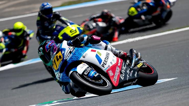 Piotr Biesiekirski w mistrzostwach świata Moto2 w Barcelonie