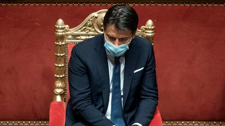 Kancelaria premiera: we wtorek Conte złoży dymisję