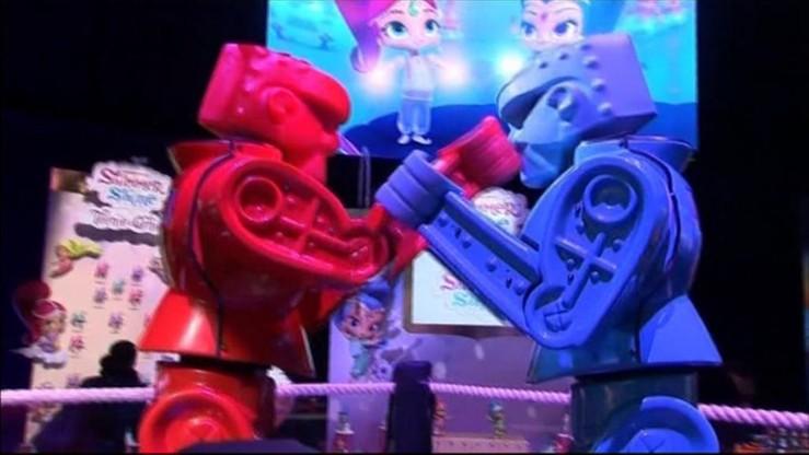 Hologramowe, wirtualne i tradycyjne. Targi Zabawek w Nowym Jorku