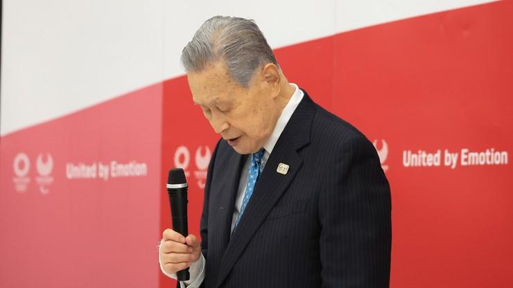 Tokio 2020: Rezygnacja szefa Komitetu Organizacyjnego Yoshiro Moriego