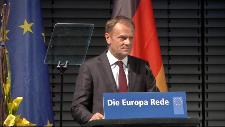 Tusk wzywa Niemcy do objęcia przywództwa w kryzysie migracyjnym