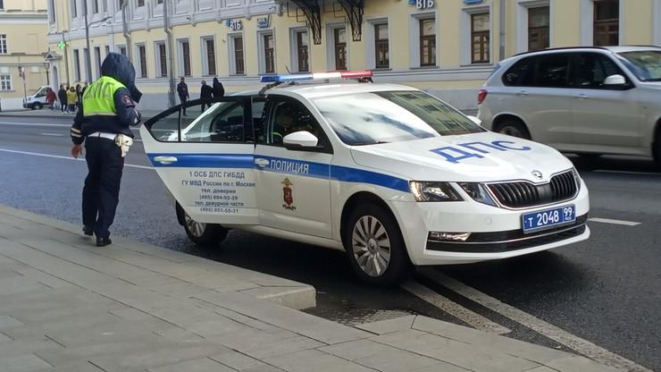 Atak na rosyjski komisariat. Ranny policjant