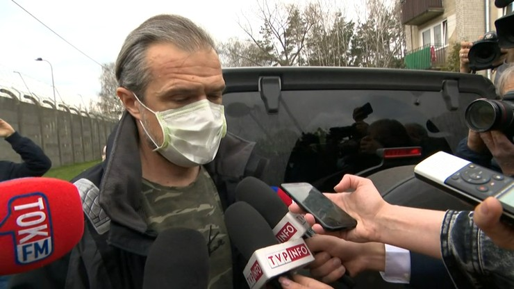 """Sławomir Nowak opuścił areszt. """"Przyjdzie czas na prawdę"""""""
