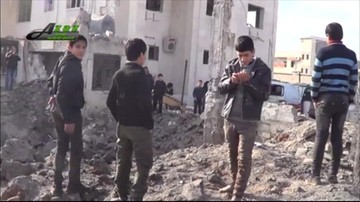 Naloty rosyjskiego lotnictwa w Syrii. Zniszczono dwa szpitale