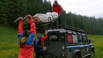 W Tatrach odnaleziono ludzkie szczątki. Możliwe, że to poszukiwany mężczyzna