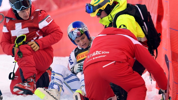 Fatalny upadek Vonn na alpejskich MŚ. To musiało boleć! (WIDEO)