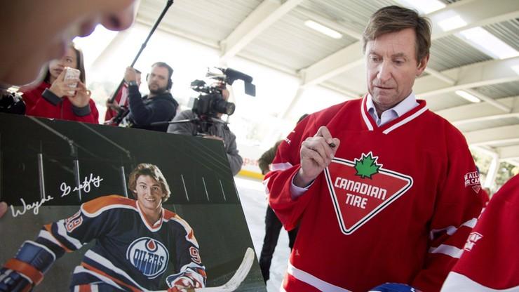 Kanadyjczyk Wayne Gretzky będzie promował hokej w... Australii