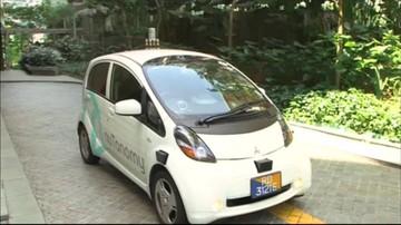 Kurs taksówką bez kierowcy. W Singapurze to już możliwe