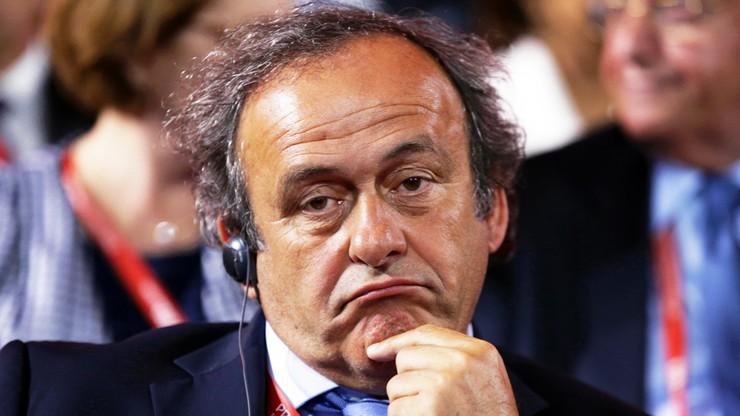 Afera FIFA: Platini nie ma sobie nic do zarzucenia
