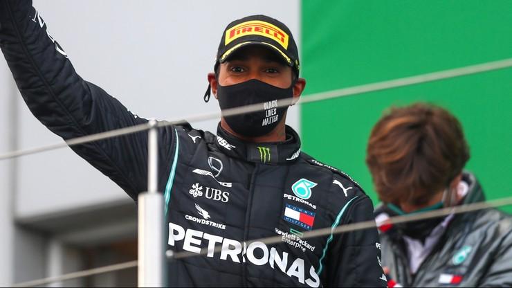 Formuła 1: Lewis Hamilton wygrał po raz 91. i wyrównał rekord Schumachera